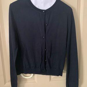 Tory Burch Navy Sweater